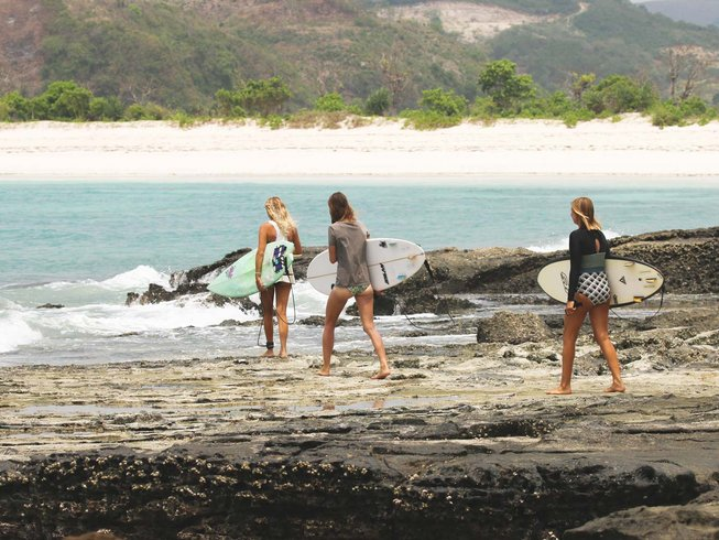 8 Days Beginners Surfing Holiday in Lombok, Indonesia