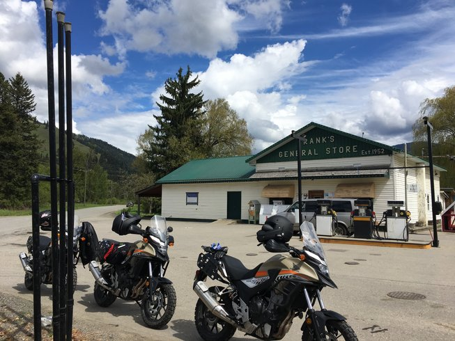 7 Days Foothills and Glaciers Motorcycle Tour in Banff, Canada