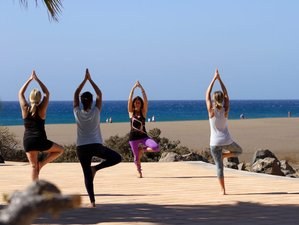 4 Days Yoga and Surf Relax-Retreat in Lanzarote, Canary Islands