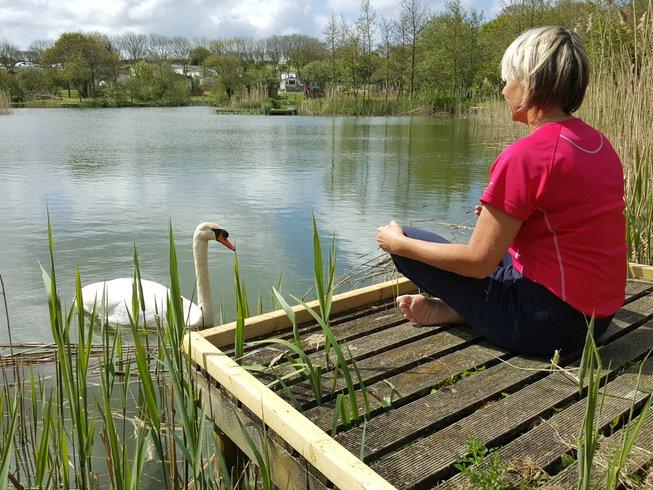 5 jours en stage de yoga de luxe dans les Cornouailles, Grande-Bretagne