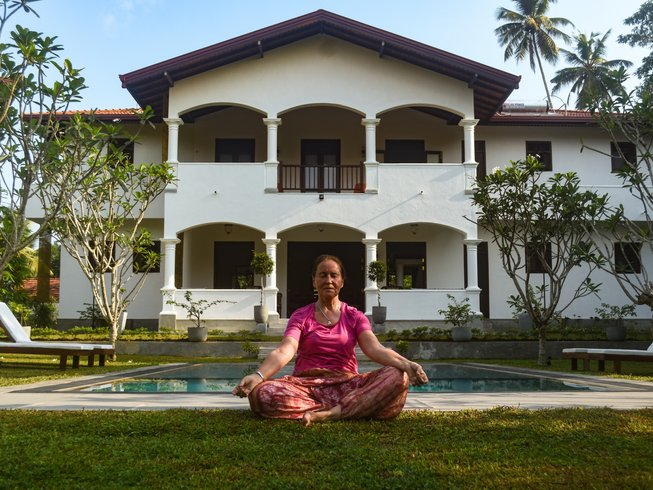 13 Tage Yoga und Meditation Retreats in Hikkaduwa, Sri Lanka