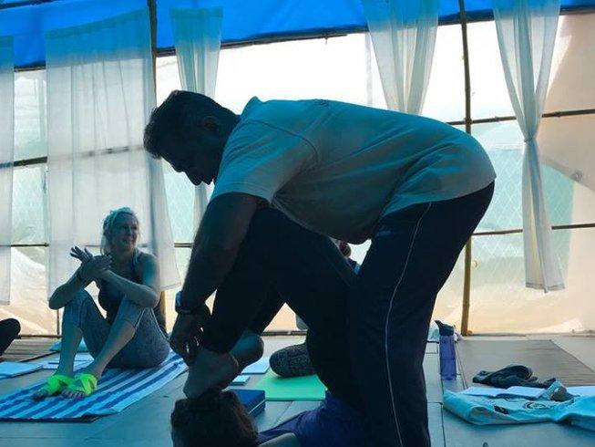 21-Daagse 200-Urige Multistijl Yoga Docentenopleiding in Goa, India