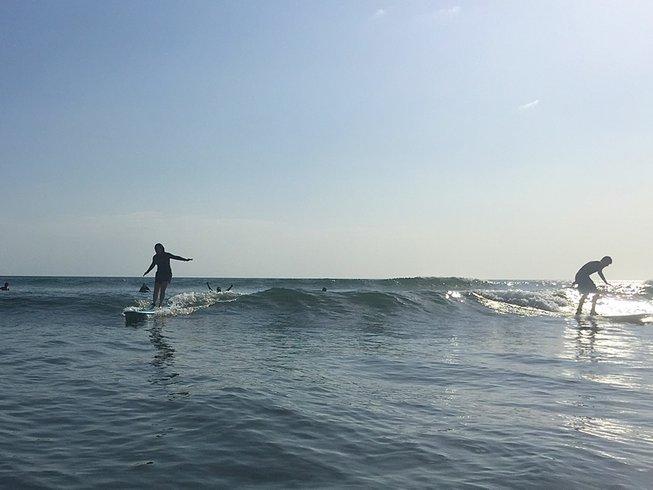 7 días vigorizantes vacaciones de yoga y surf en Veraguas, Panamá