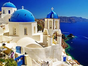 7 Days Yoga Holiday in Santorini Greece