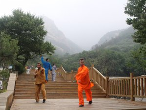 3 Months Study Shaolin Kungfu, Sanda, Wing Chun in Mountains, Shandong, China