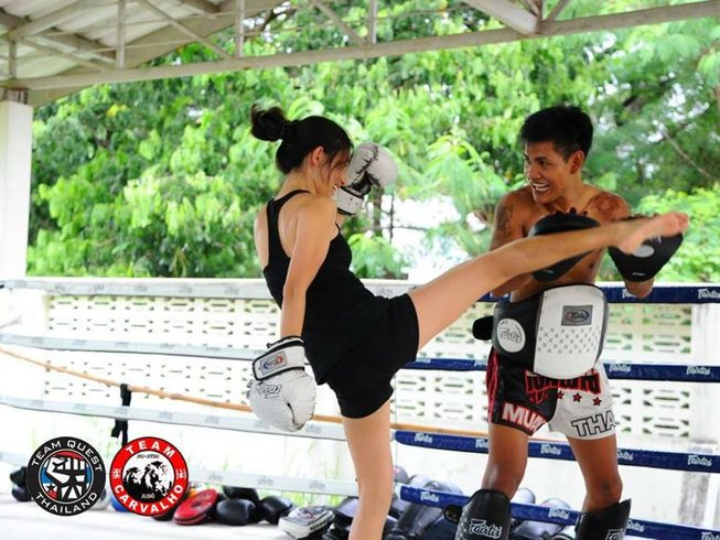 1 Month Muay Thai and BJJ Training in Chiang Mai, Thailand