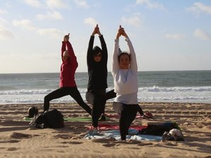 8 Days Surf and Yoga Experience in Santa Cruz, Portugal