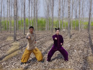 1 Week Martial Arts and Kung Fu Training Experience in Tengzhou, Shandong