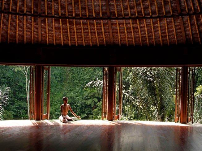 7 jours en stage de yoga et méditation transformationnelle avec Naomi Zelin à Bali, Indonésie