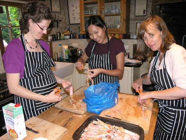7 Days French Cooking Course in Brittany, France
