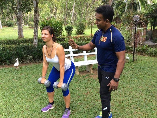 15 Tage Verbesserter Abnehm Yoga Urlaub in Kalutara, Sri Lanka
