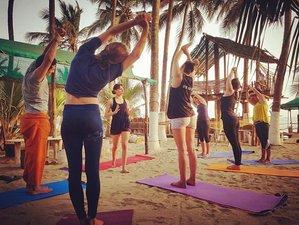 6 jours en vacances de hatha yoga à Goa : plage, confort et détente pour un séjour inoubliable