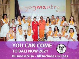 25 Day 200-Hour Ashtanga, Vinyasa, Hatha, Yin, Nidra, Prenatal with All Private room with Seaview