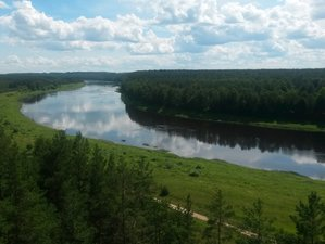 5 Days Kayaking and Yoga Retreat at the Ancient Valley of Daugava in Latvia
