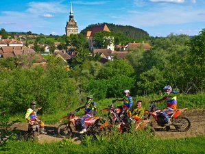 8 Days Medieval Adventure Guided Enduro Motorcycle Tour in Romania