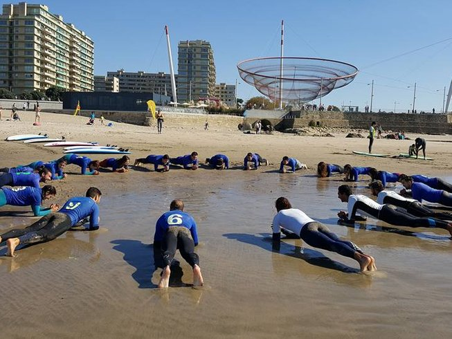 4 Days Surf Camp in Matosinhos, Portugal
