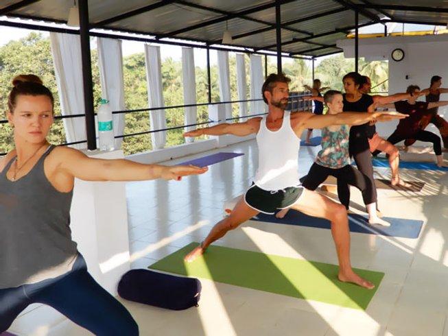26 Days 200-hour Yoga and Meditation Teacher Training Goa, India
