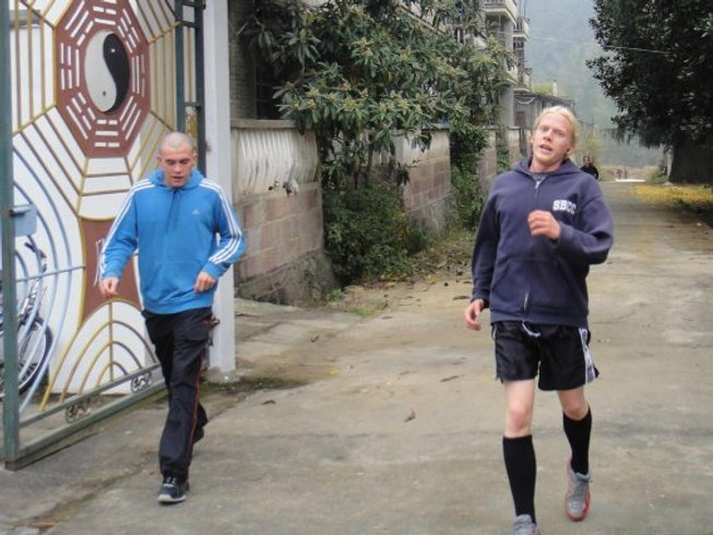 3 Months Weight Loss & Kung Fu Training in China