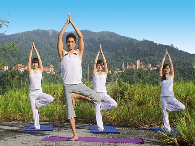 6 Days Stress Relief Yoga Retreat in Malaysia