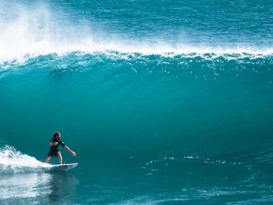 15 Days Yoga and Surf Guiding for Intermediate and Advanced Surfers in Weligama, Sri Lanka