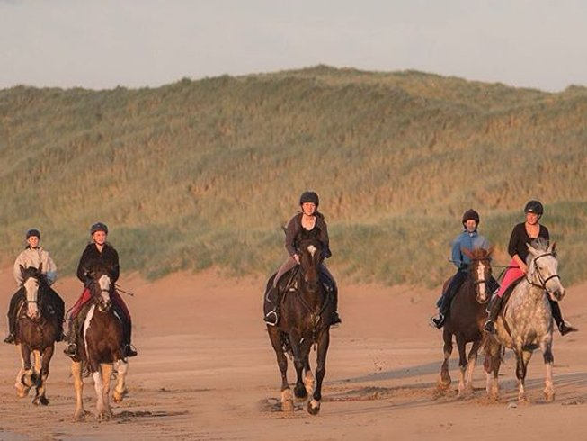 7 Days Atlantic Trail Week Horse Riding Holiday in Connacht, Ireland