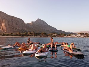 6 Day Stand Up Paddleboard and Yoga Retreat in San Vito lo Capo, Sicily